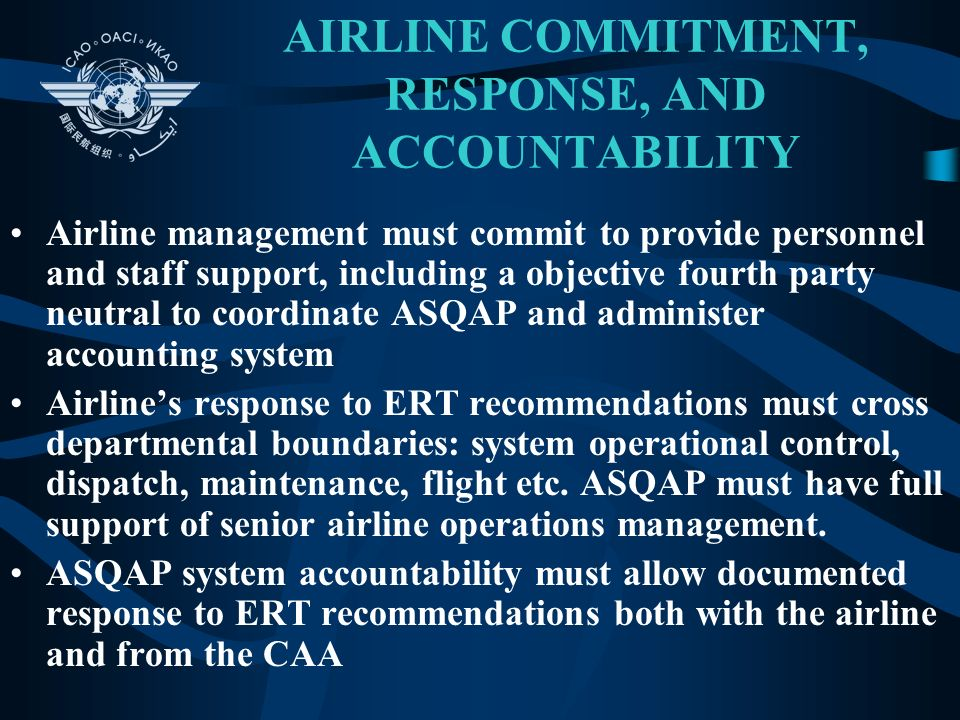 AIRLINE COMMITMENT, RESPONSE, AND ACCOUNTABILITY