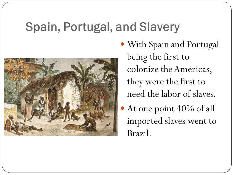 an introduction to slavery in portugal Which of the following was not conquered or defeated by the portuguese songhay the introduction of new staple foods from the americas the anti-slavery movement, the frequency of slave revolts.