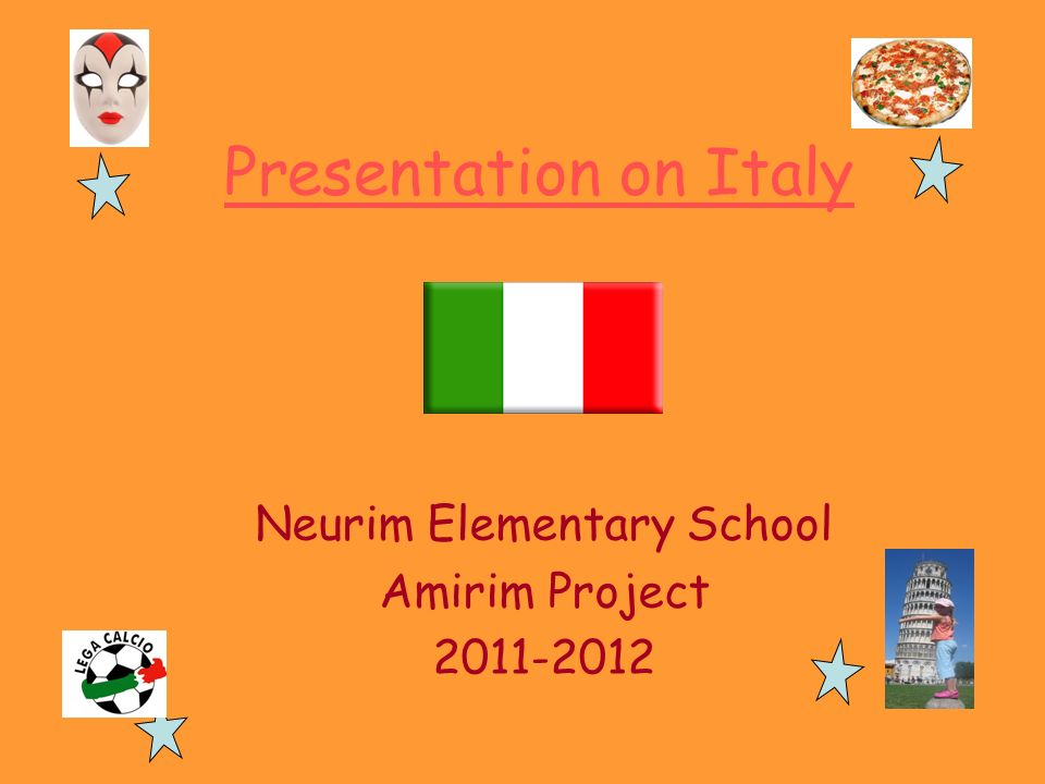 Neurim Elementary School Amirim Project 2011-2012