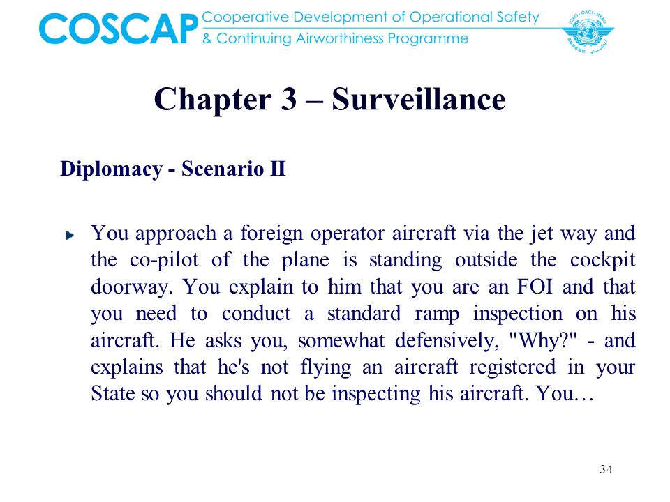 Chapter 3 – Surveillance