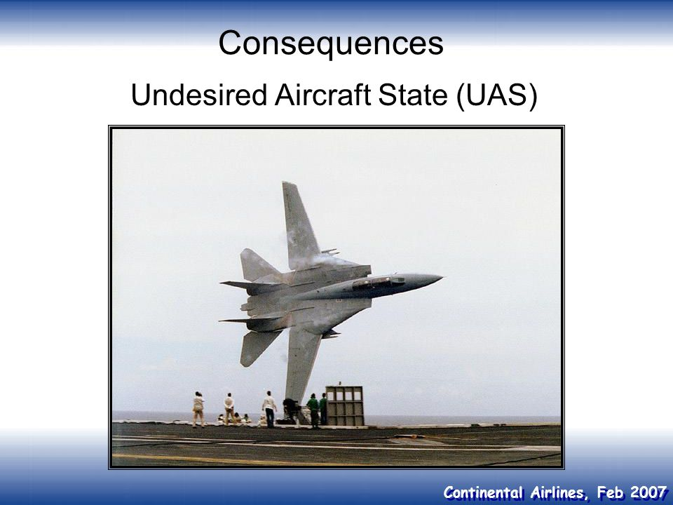 Undesired Aircraft State (UAS)