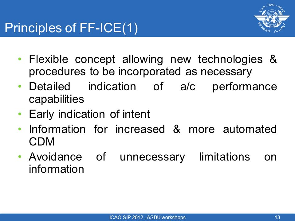 Principles of FF-ICE(1)