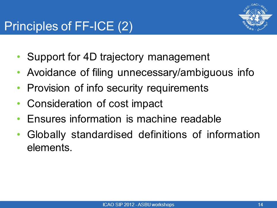 Principles of FF-ICE (2)