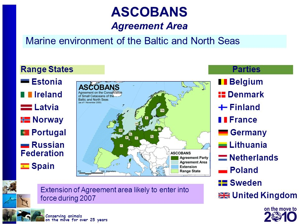 ASCOBANS Agreement Area