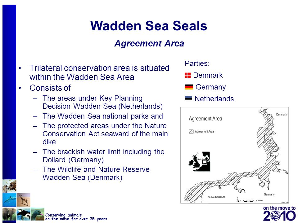 Wadden Sea Seals Agreement Area