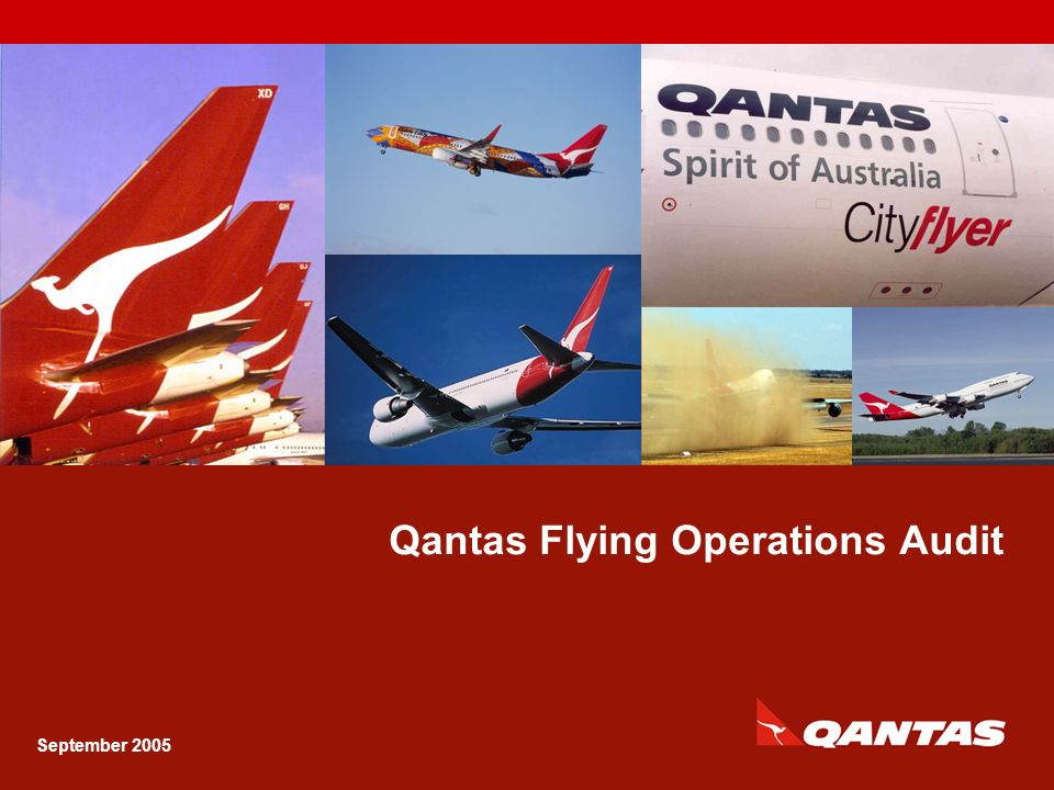 Qantas Flying Operations Audit