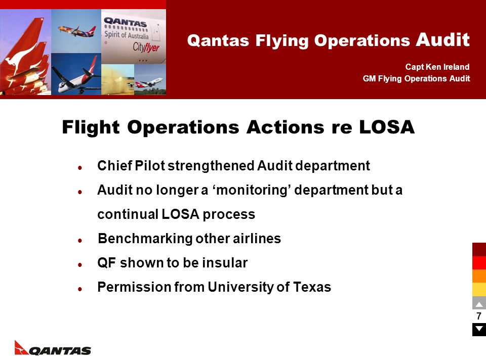 Flight Operations Actions re LOSA
