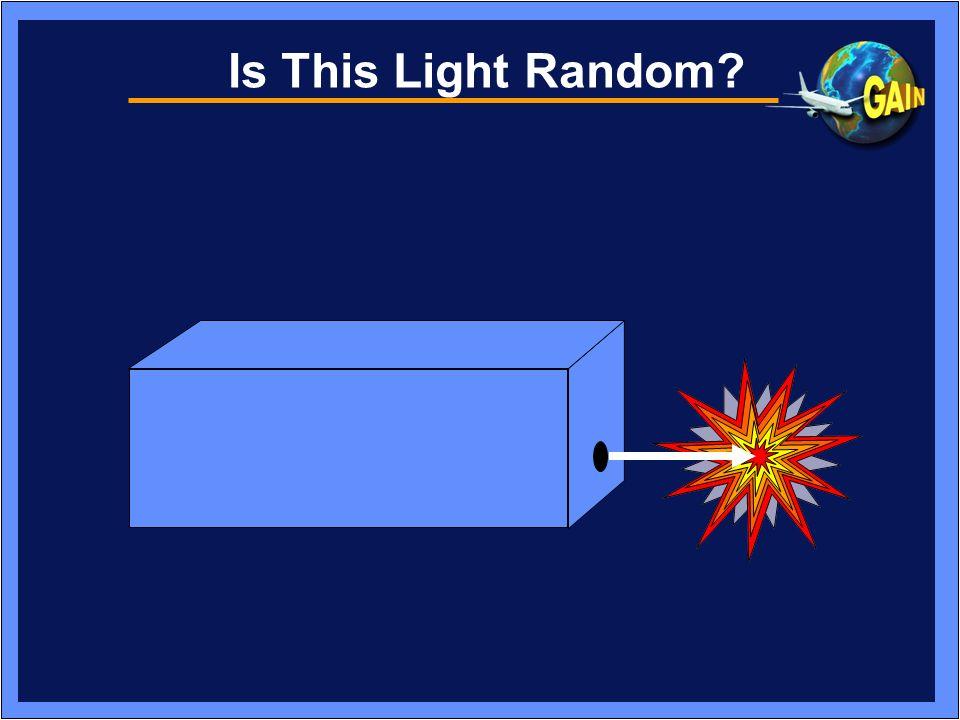 Is This Light Random
