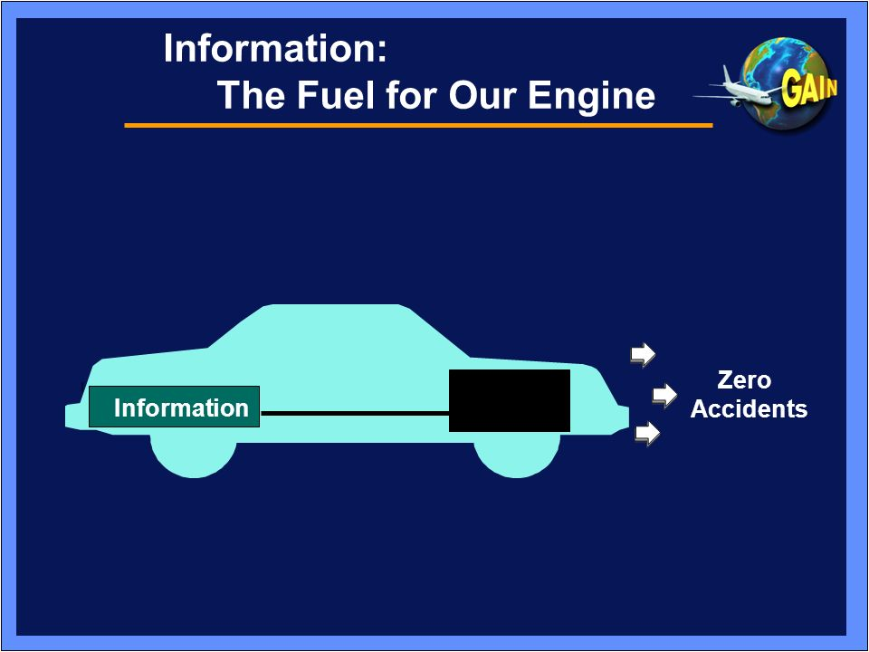 Information: The Fuel for Our Engine Zero Accidents Information