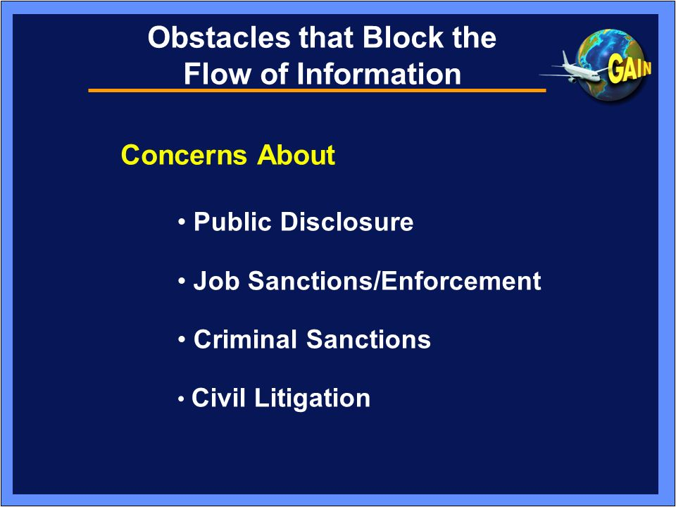 Obstacles that Block the