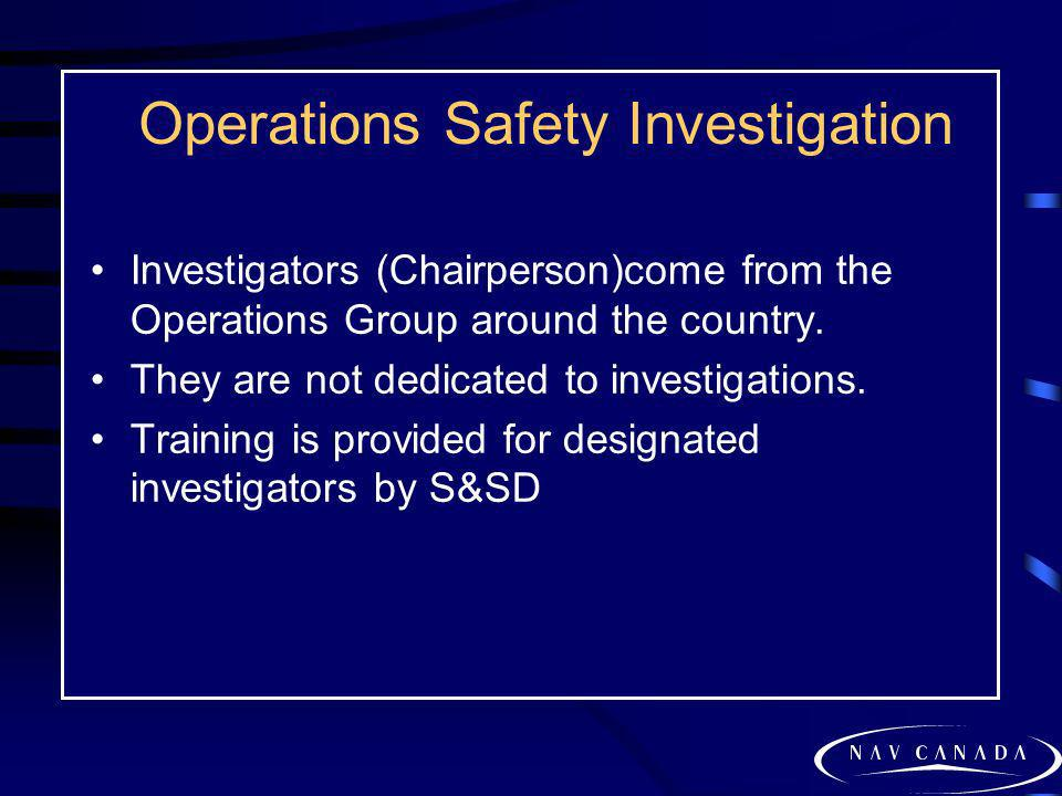 Operations Safety Investigation