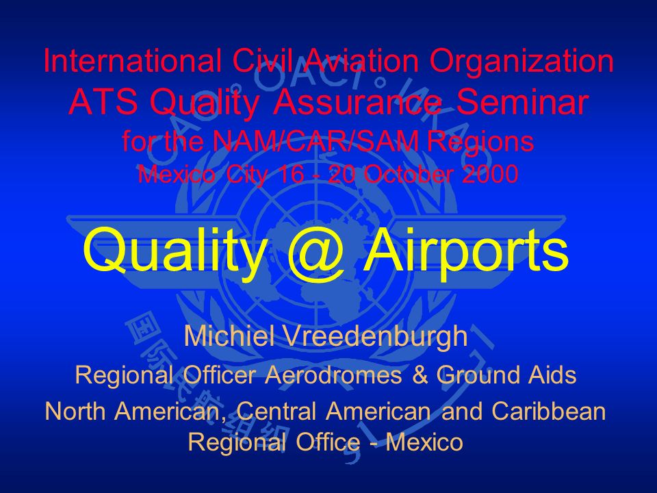 Regional Officer Aerodromes & Ground Aids