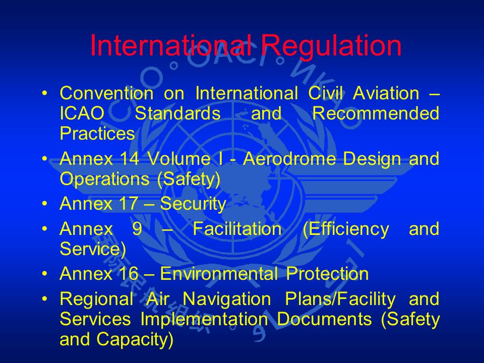 International Regulation