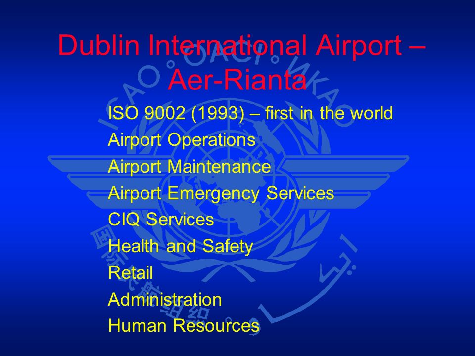 Dublin International Airport – Aer-Rianta