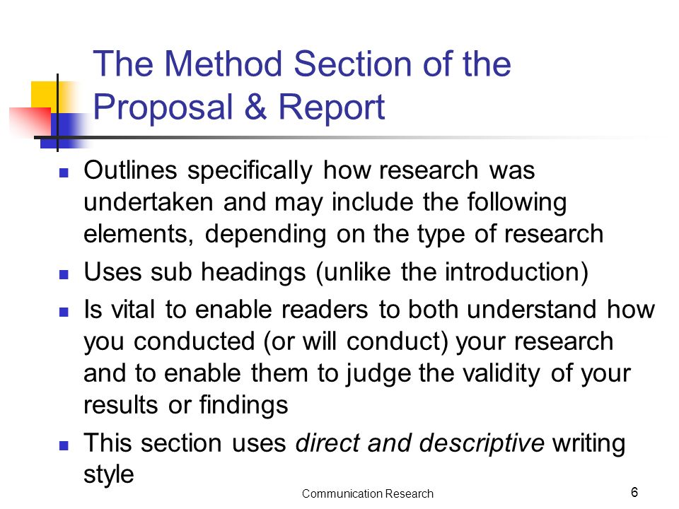 how do you write a research proposal