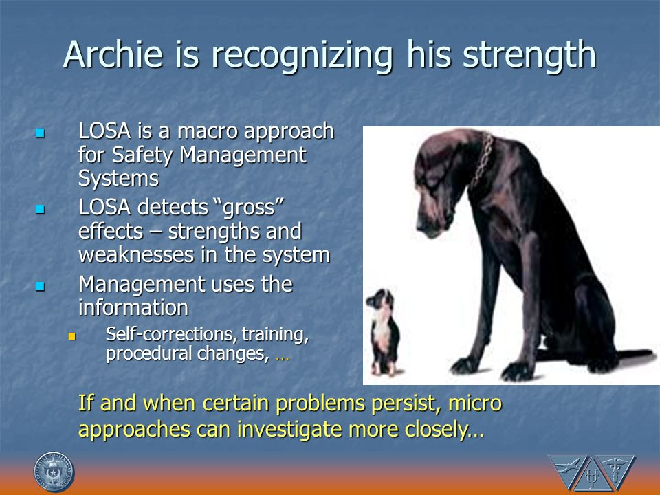 Archie is recognizing his strength