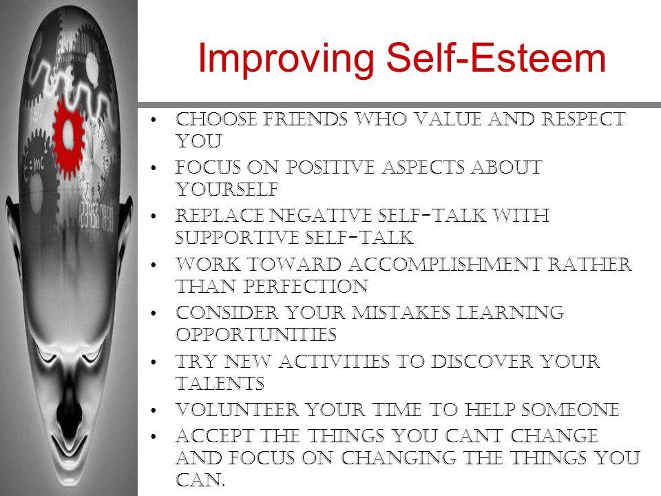self esteem and learning pdf