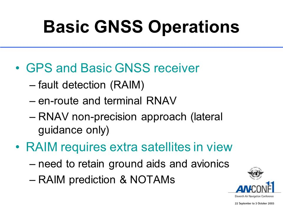 Basic GNSS Operations GPS and Basic GNSS receiver