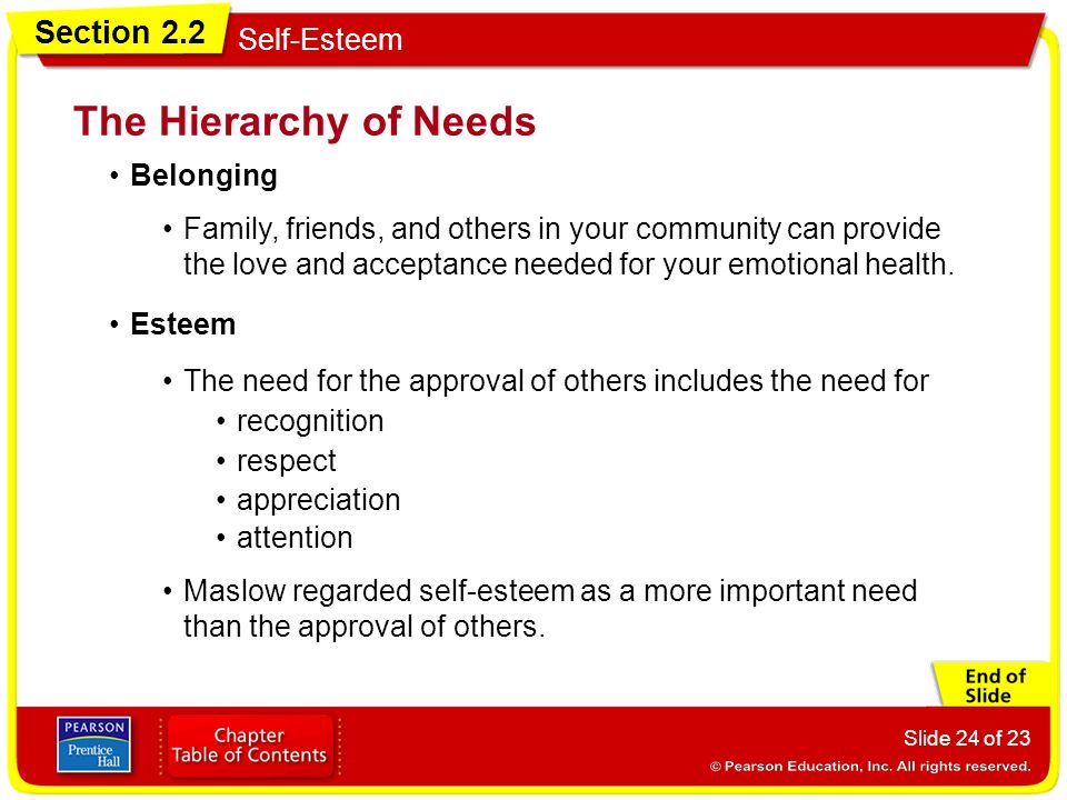 'belonging is crucial to self esteem Finally, the alternatives to pursuing self-esteem, and ways  reassurance to me  that i belong in my field and  are assumed to be important to self-esteem.