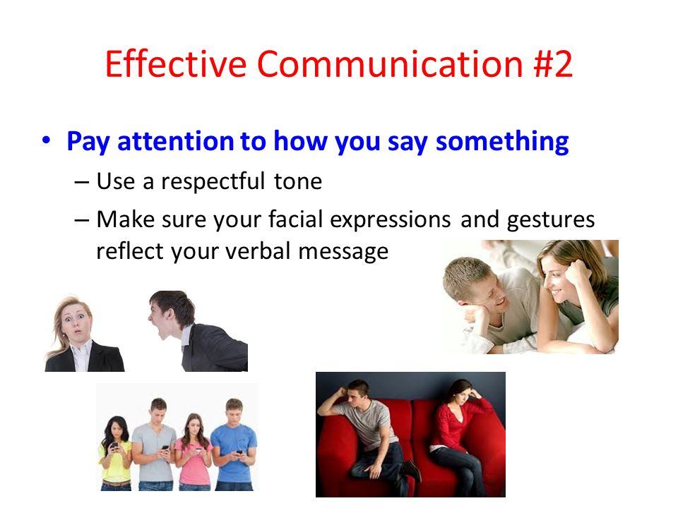 Effective Communication #2