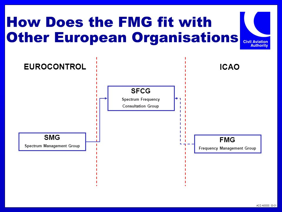 How Does the FMG fit with Other European Organisations