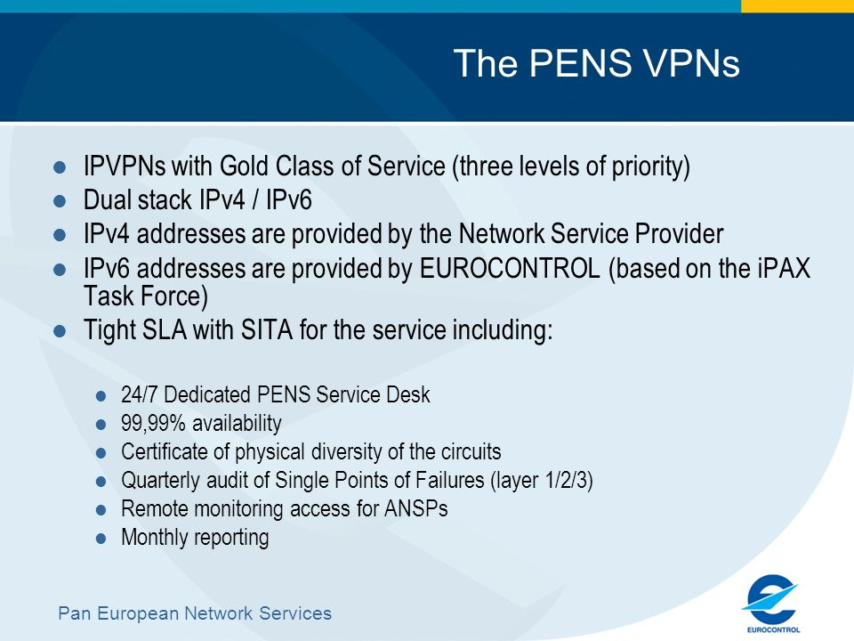 Pan European Network Services