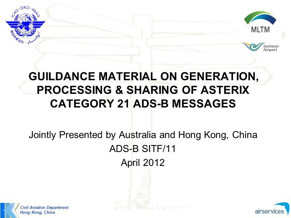 Jointly Presented by Australia and Hong Kong, China