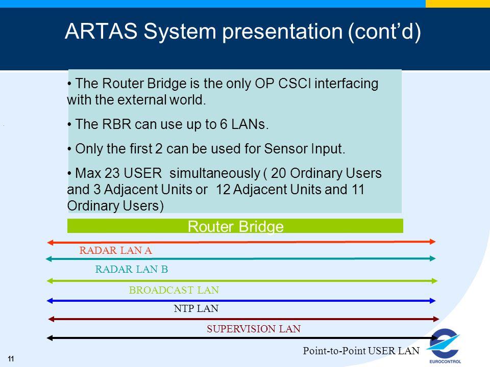 ARTAS System presentation (cont'd)