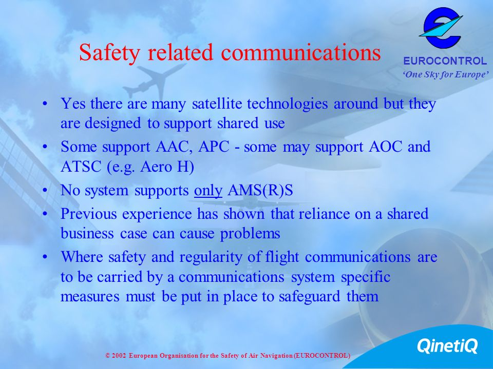 Safety related communications