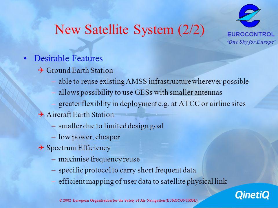 New Satellite System (2/2)