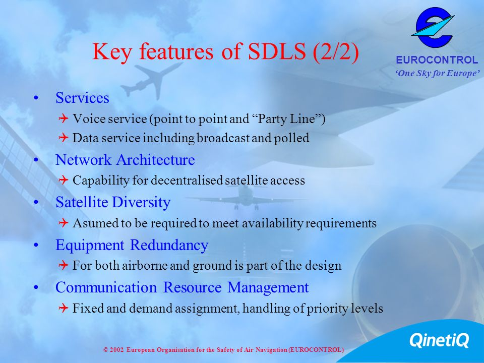 Key features of SDLS (2/2)