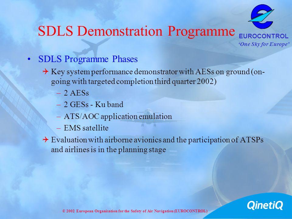 SDLS Demonstration Programme
