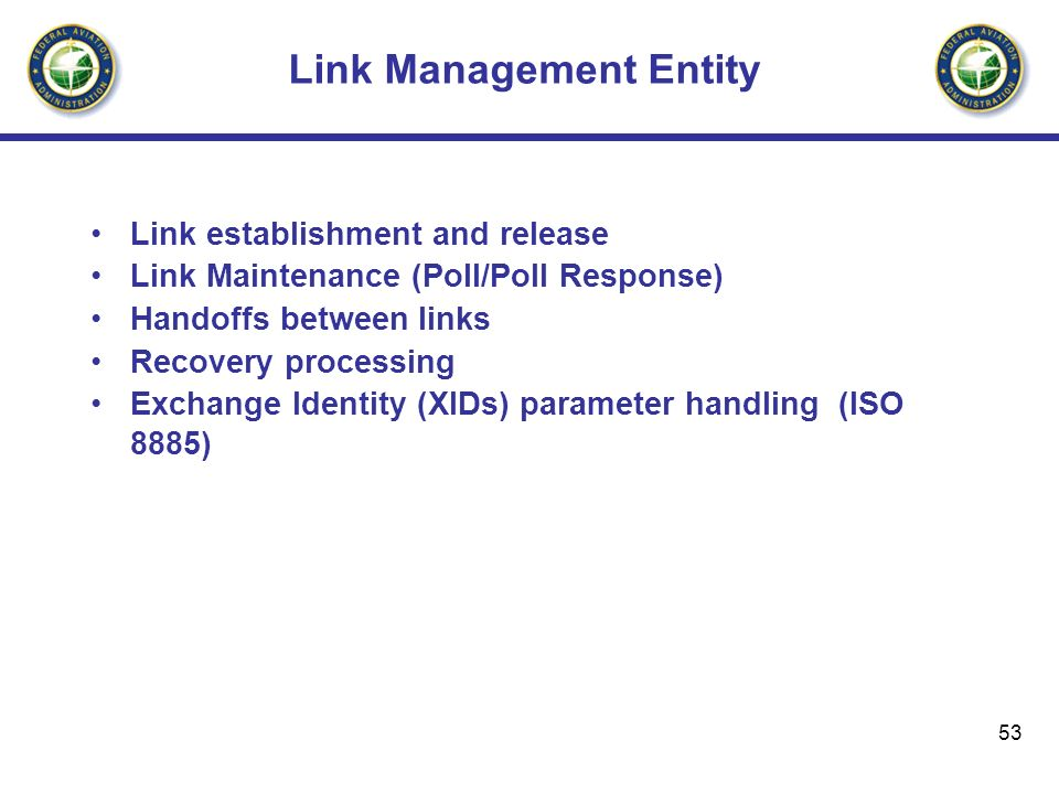 Link Management Entity