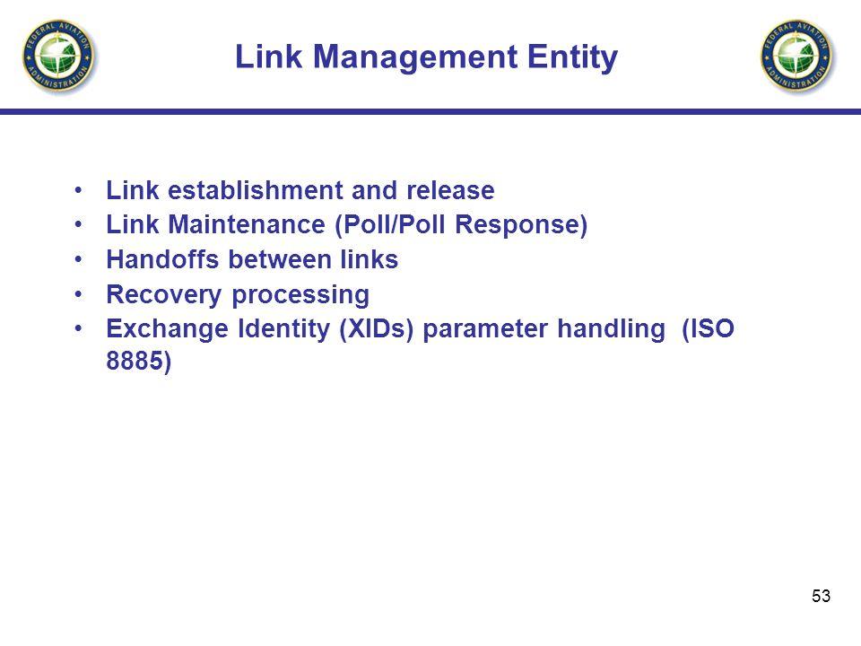 Link Management Entity