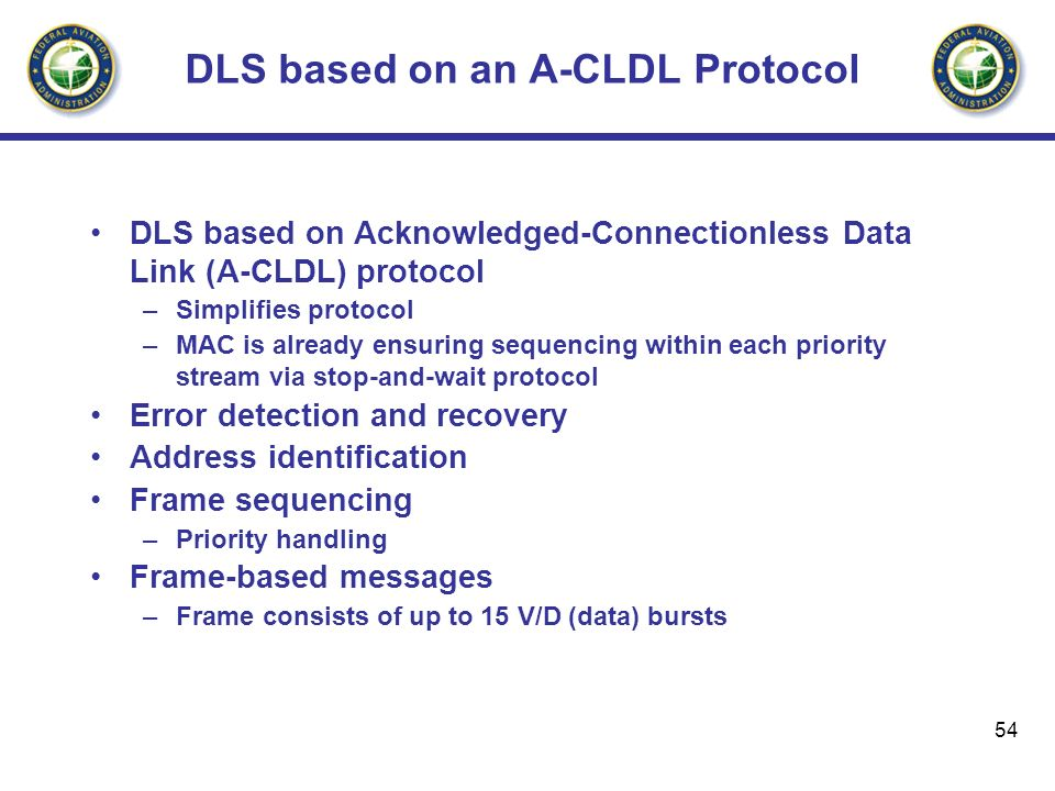 DLS based on an A-CLDL Protocol