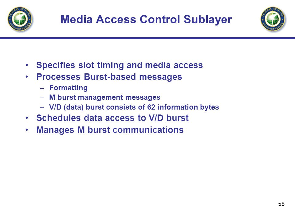Media Access Control Sublayer