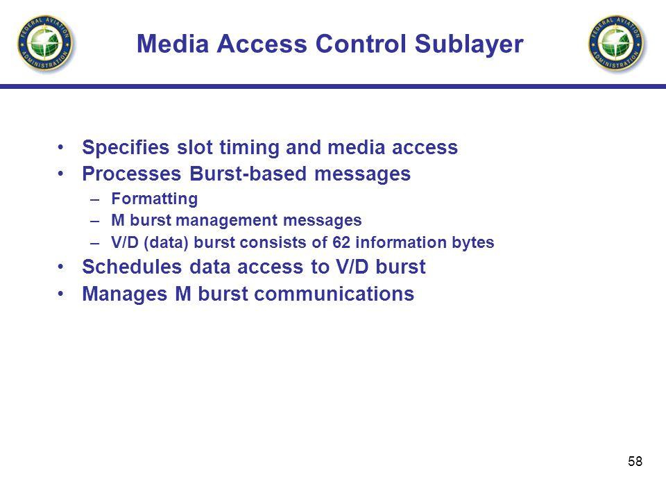 Media Access Control Sublayer