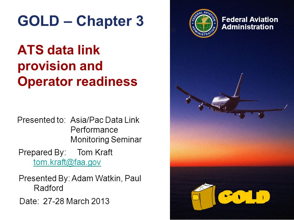 ATS data link provision and Operator readiness