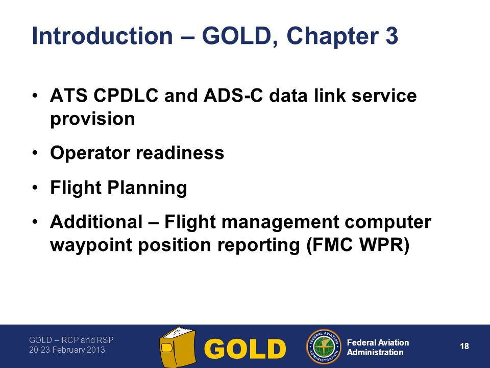 Introduction – GOLD, Chapter 3