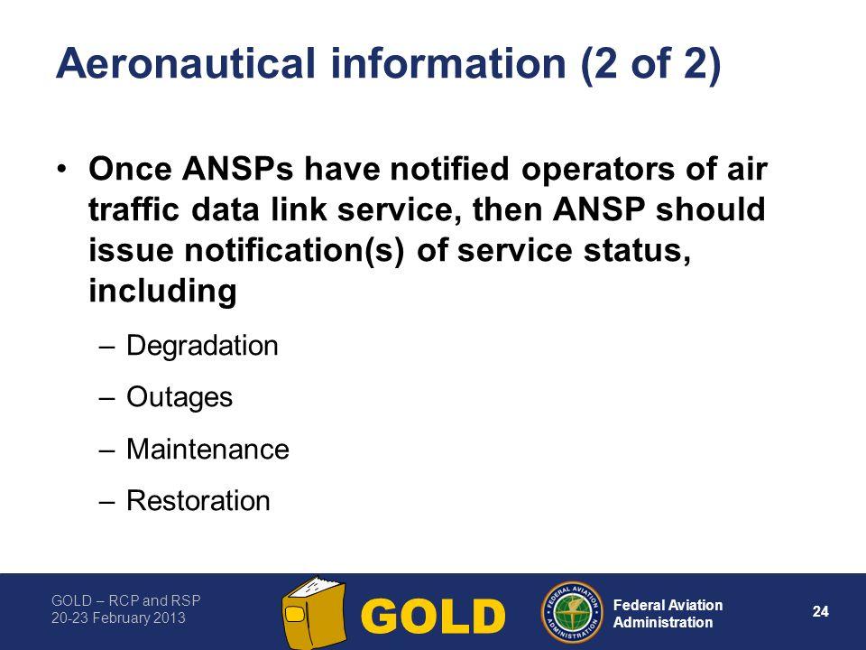 Aeronautical information (2 of 2)