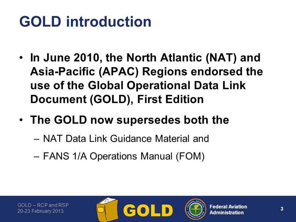 GOLD introduction