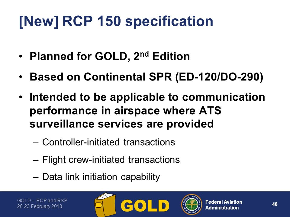 [New] RCP 150 specification