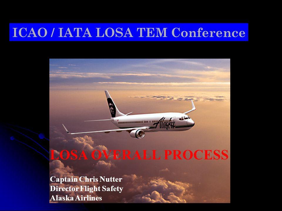 LOSA OVERALL PROCESS ICAO / IATA LOSA TEM Conference