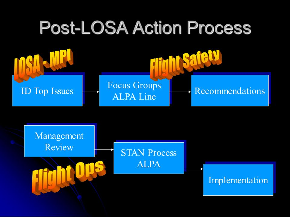 Post-LOSA Action Process