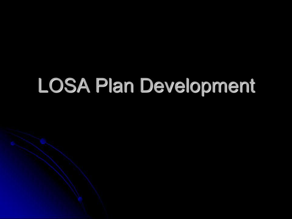 LOSA Plan Development