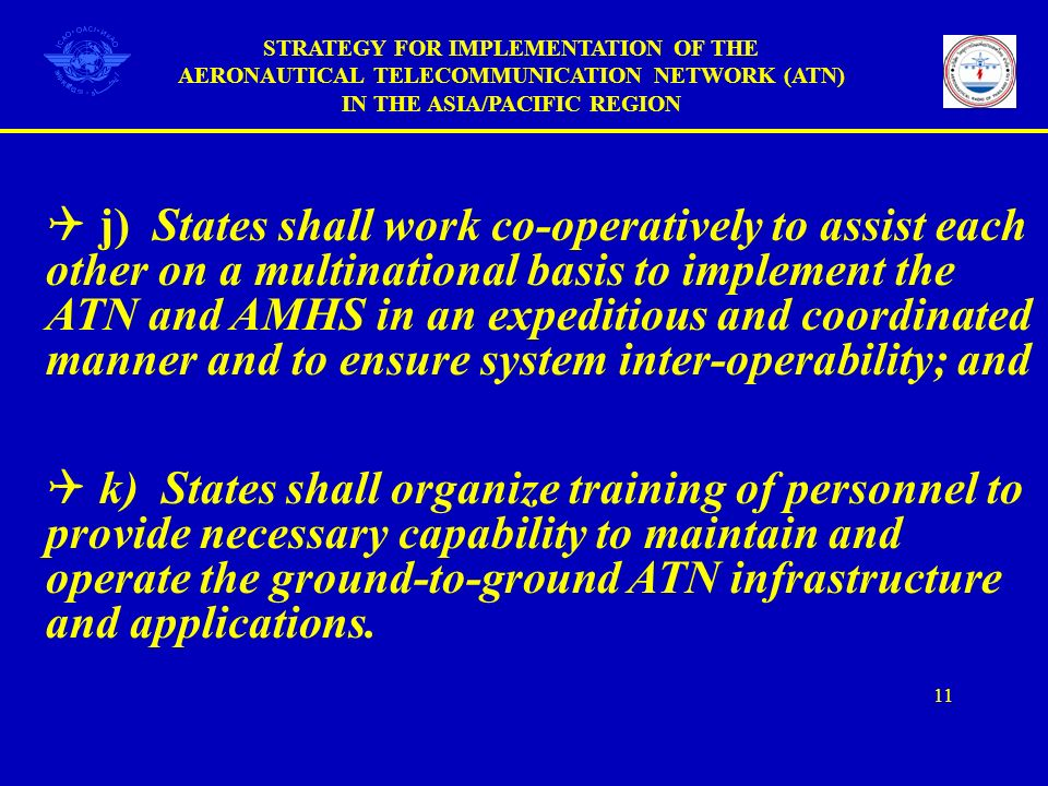 STRATEGY FOR IMPLEMENTATION OF THE