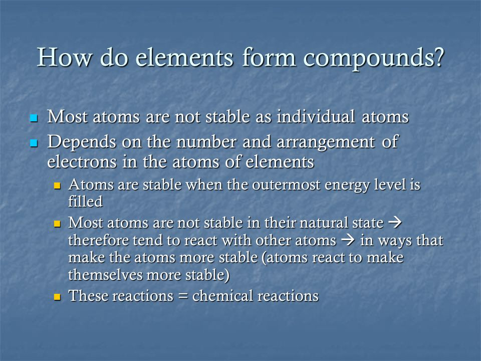 CHAPTER 2: CHEMISTRY. - ppt download