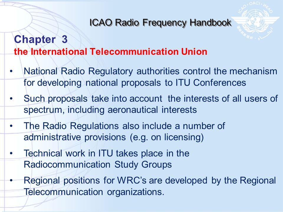 ICAO Radio Frequency Handbook