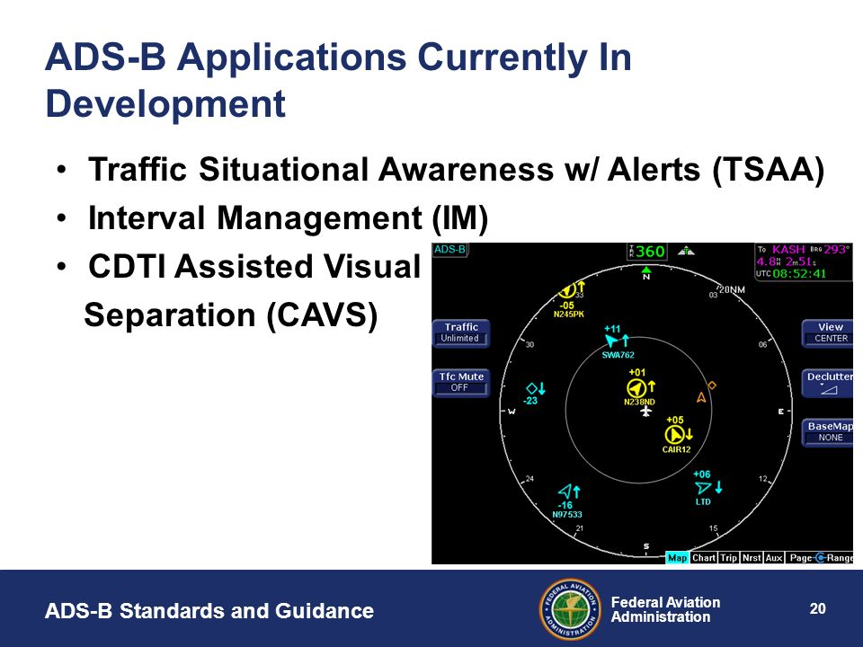 ADS-B Applications Currently In Development