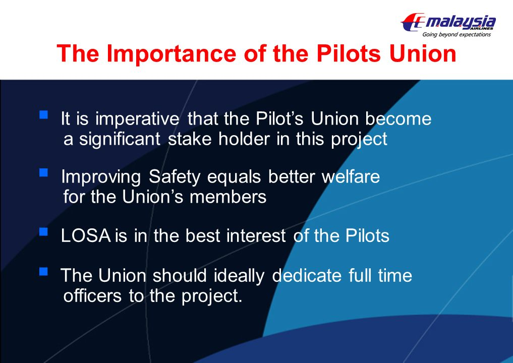 The Importance of the Pilots Union